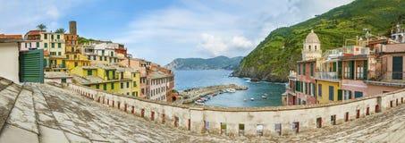Vernazza village, Cinque Terre, Italy Stock Images