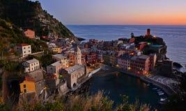 Vernazza village in Cinque Terre, Italy Royalty Free Stock Image