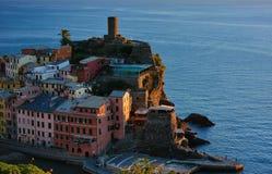 Vernazza village in Cinque Terre, Italy Royalty Free Stock Photo
