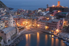 Vernazza village, italy Stock Photography