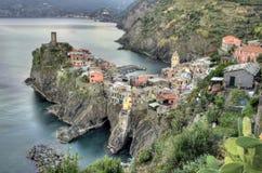 Vernazza village, Italy Stock Photo