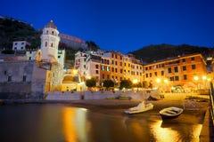 Vernazza village, Italy Royalty Free Stock Image