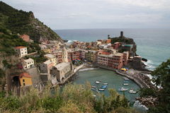 Vernazza Village Stock Photos