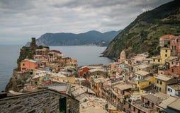 Vernazza village Stock Photos