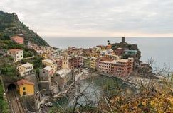 Vernazza village Stock Image