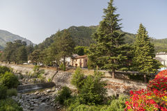 Vernet Les Bains,Occitanie,France. Royalty Free Stock Image