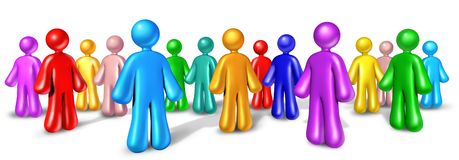 Vernetzungs-Gemeinschaftskommunikation Lizenzfreies Stockfoto