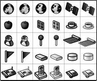 Vernetzungs-Ikonen #02 Lizenzfreies Stockfoto