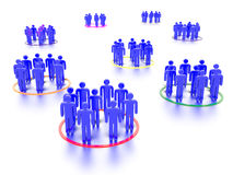 Vernetzungs-Leute Lizenzfreie Stockbilder