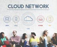 Vernetzungskommunikation Verbindung teilen Ideen-Konzept Lizenzfreie Stockfotos