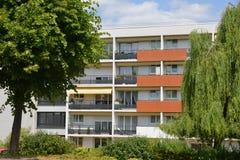 Verneuil sur Seine; city, France - july 9 2015 : apartment block Stock Images