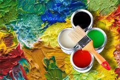vernice fotografia stock