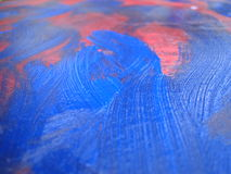 Vernice blu Fotografia Stock