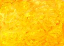 Vernice dell'acquerello. priorità bassa gialla. illustrazione di stock