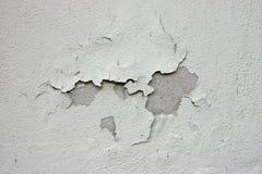 Vernice della sbucciatura sulla parete Immagini Stock Libere da Diritti