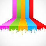 Vernice multicolore Fotografia Stock