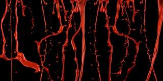 Vernice sanguinante. immagini stock