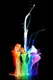 Vernice su un altoparlante Fotografia Stock