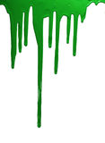 Vernice verde Immagini Stock