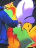 Verniciatura della parete Fotografia Stock Libera da Diritti