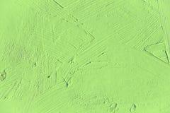 Verniciatura vicino su del colore verde chiaro Immagini Stock Libere da Diritti