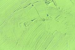 Verniciatura vicino su del colore verde chiaro Immagini Stock
