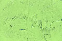 Verniciatura vicino su del colore verde chiaro Immagine Stock