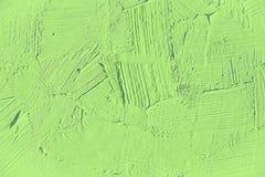 Verniciatura vicino su del colore verde chiaro Fotografia Stock