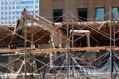 Vernieling en bouw Stock Fotografie
