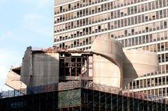 Vernieling en bouw Stock Foto's