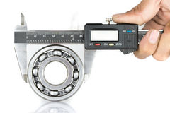 Vernier with bearing Royalty Free Stock Images