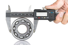 Vernier with bearing Royalty Free Stock Photo
