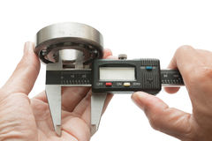 Vernier with bearing Stock Images