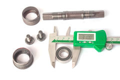 Vernier Caliper with Bearing Royalty Free Stock Photography