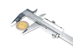 Vernier caliper Royalty Free Stock Photos