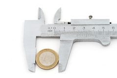Vernier calipers Royalty Free Stock Photo