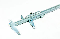 Vernier calipers. Vernier callipers, trammel - tool for precision stock images