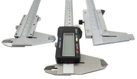 Vernier calipers Stock Image