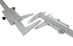 Vernier calipers Royalty Free Stock Images