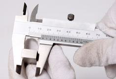 Vernier Calliper Stock Photo
