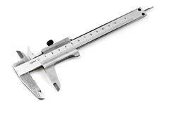 Vernier callipers Stock Photos
