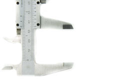 Vernier. Half of vernier with white isolated background Royalty Free Stock Image