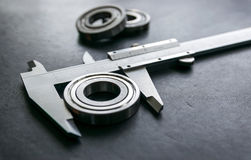 Vernier is a measure of the jobs and industries. Royalty Free Stock Photography