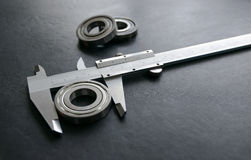 Vernier is a measure of the jobs and industries. Stock Photography
