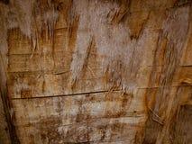 Vernietigd hout met barsten achtergrondtextuur Stock Fotografie