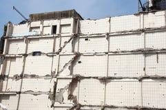 Vernietigd huis Stock Afbeelding