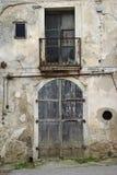 Vernietigd huis Royalty-vrije Stock Foto