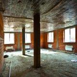 Vernietigd vuil binnenland Stock Foto