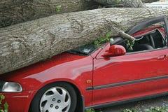 Vernietigde auto Royalty-vrije Stock Foto