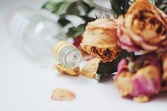 Vernietigde bloemen Royalty-vrije Stock Afbeeldingen